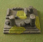 Javis Countryside Scenic Terrain JRGT08 Small Ruined Temple (x 1)